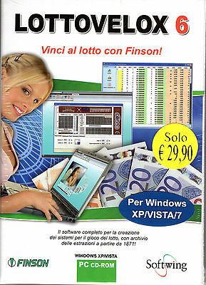 Software Finson Lottovelox 6