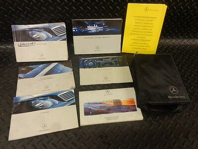 2003 Mercedes C Class C220 Cdi Estate Owners Manual Handbook With Wallet