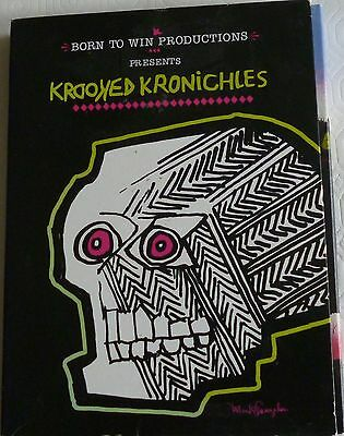 Dvd-Krooked Kronichles-2 Disks Booklet -Skateboarding-Born To Win