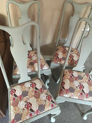 Shabby Chic Set Of Four Chairs
