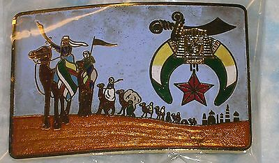 Belt buckle featuring the Shriners