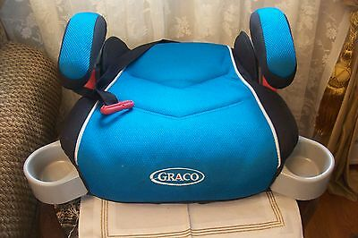 """Graco Booster Car Seat withSafety Backle 4-10 Years,40-100lbs ,40-57"""""""