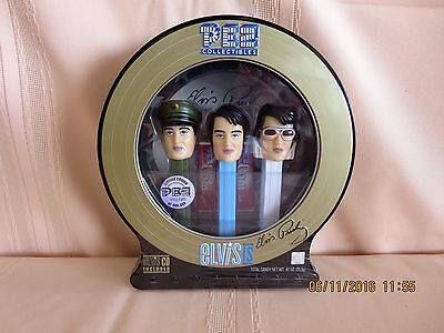 Elvis Presley Collectable Pez Sealed Limited Edition 182195 of 400000