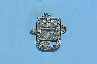 Antique METAL VICTORIAN ICE BOX HARDWARE HANDLE RESTORATION PART OLD Lot #30