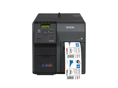 Epson ColorWorks C7500 GHS Label Printer with Onsite Service | TM-C7500  Demo
