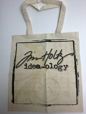 Tim Holtz Tote Bag Ideology Canvas NEW