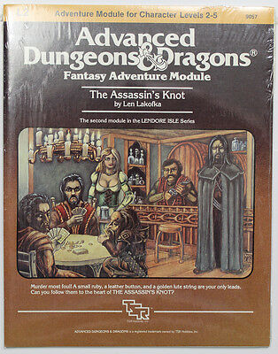 AD&D Module L2 The Assassin's Knot Sealed in original shrink!!!