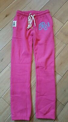 Girls age 9-10years bnwt pink joggies jogging trousers tracksuit bottoms