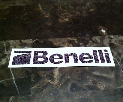 BENELLI FIREARM CAMO STICKER Gun