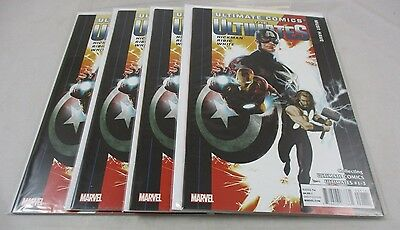 2012 Ultimate Comics The Ultimates Comic Book #1 Lot of 4 Marvel Thor Iron Man