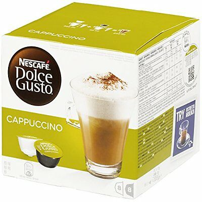 Nescafe Dolce Gusto Cappuccino16 Capsules -Pack of 3