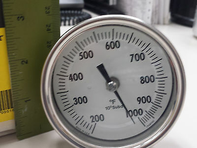 THERMOMETER STACK 200-1000°F  Sid Harvey's # N29-76 , NEW