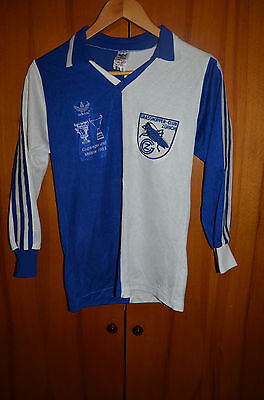 Grasshoppers Switzerland 1983 No Match Worn Cup Winners Football Shirt Adidas 9
