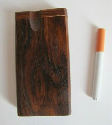 """Swivel Top Wood Dugout One Hitter With 4/"""" Spiked Bat/""""Colonel Mustard/"""" Design"""