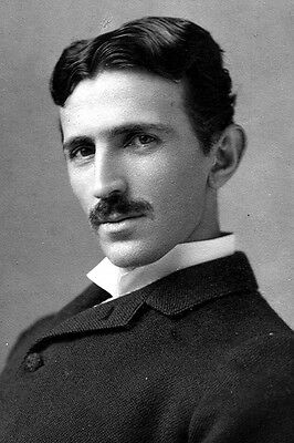 New 5x7 Photo: Electrical Engineering Pioneer and Visionary Nikola Tesla