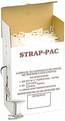 PAC STRAPPING PRODUCTS SP-P Strapping Kit plastic buckles Polypropylene 3000 ft