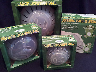 Happypet Dwarf & Syrian Hamster Jogging Balls + Stand Mice Rats Degu Chinchilla