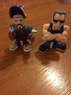 Orange County Choppers Lot Of 2 Figures Paul Jr. Sr. Loose Toy Zone OCC