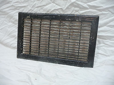 Antique Craftsman Style Floor Vent / Grate - Circa 1915 Architectural Salvage