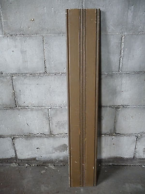 Antique Victorian Beaded Door Casing Trim - C. 1880 Fir Architectural Salvage