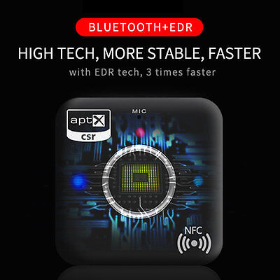 Wireless B7 Bluetooth 4.1 Music Audio Receiver For Speaker Headphone Home Car AU