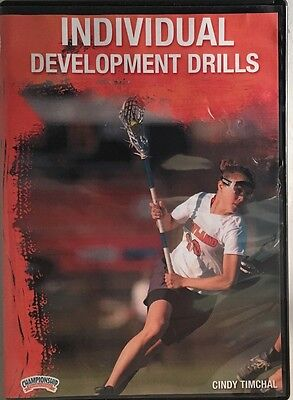 Cindy Timchal: Individual Development Drills (DVD)