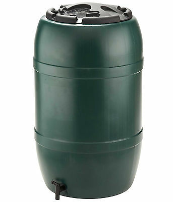 210 Litre Garden Durable Water Butt With Childproof Lockable Lid And Water Tap