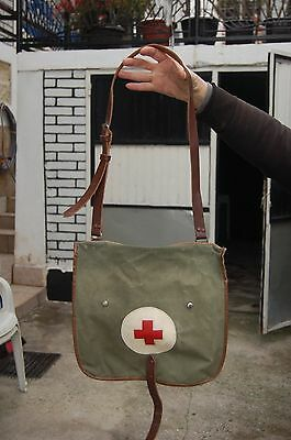RED CROSS bag from Yugoslavia - JNA -  FIRST AID - Serbia