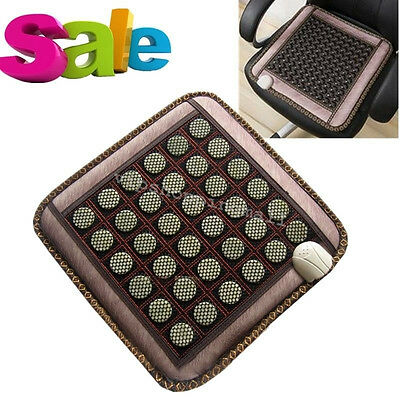 Jade Tourmaline Heat Healing Therapy Mat Negative Ions FIR InfraRed Pad