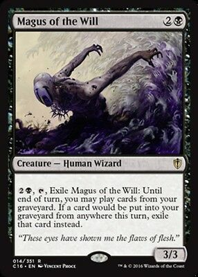 1x Magus of the Will NM-Mint, English Commander 2016 MTG Magic