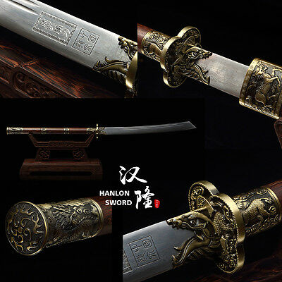 New Handmade Classic Dao Chinese KangXi Sabre Sword Vintage Qing Dynasty Saber