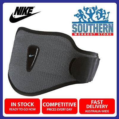 Nike Strength Training Weight Lifting Belt Size M Lower Back Support Comfort