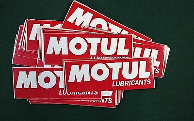 50 - Motul Lubricants - Stickers - Motorcycles - Original - Excellent