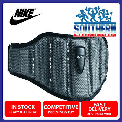 Nike Structured Training Weight Lifting Belt Size M Lower Back Support Comfort