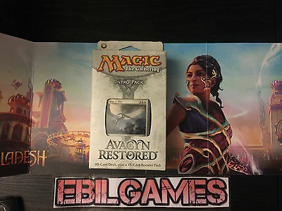 Avacyn Restored Intro Pack: Angelic Might Magic the Gathering MTG RARE