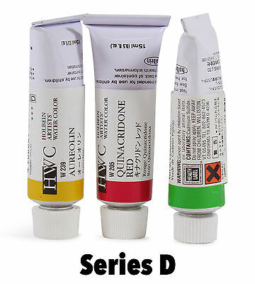 Holbein Artists' Watercolor Tubes - Series D