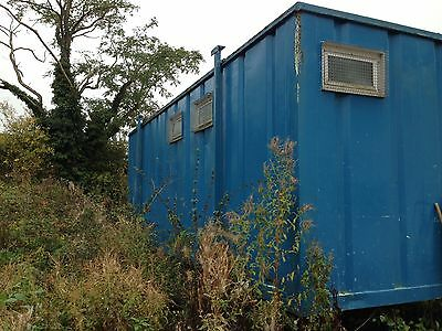 Welfare Unit With Office/canteen And Toilet Block