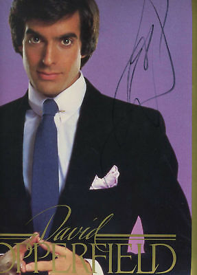 Magician David Copperfield collectibles 130 items; big world-class rare archive