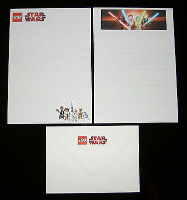 Lego Star Wars Letter Writing Paper Stationery Set - great boys gift!