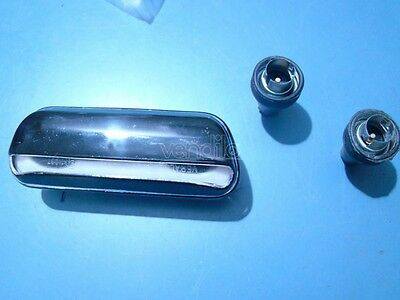 Fiat 1100 R Luce Targa License Plate Light Veralux