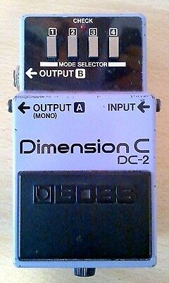 Boss Roland DC-2 Dimension C Vintage Made In Japan MIJ 1986 Chorus Modulation