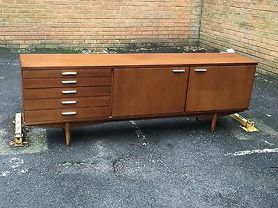 Stunning 7ft Credenza-Drinks Cabinet By Greaves & Thomas
