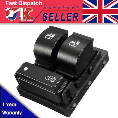 Electric Window Switch Button Front Right for Peugeot Boxer Citroën Relay Fiat