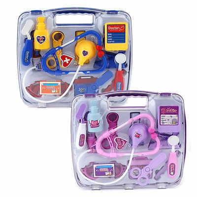 Kids Educational Pretend Doctor Case Toy Set Child Medical Kit Doctor Case AU