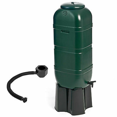 100 Litre Garden Water Butt Set including Tap & Stand & Connection Filler Kit 39