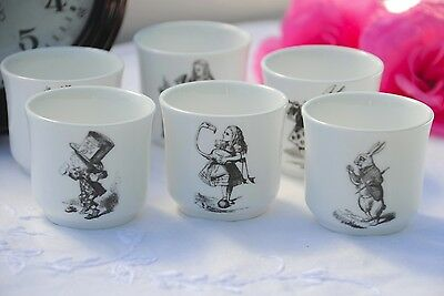 Alice in Wonderland Mad Hatter Tea Party Fne Bone China Egg Cup