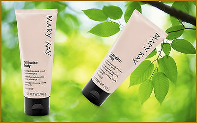 Mary Kay TimeWise Body Hand and Décolleté Cream SPF 15.2020