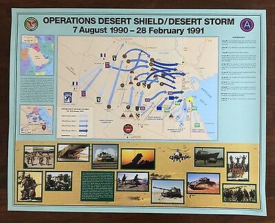Operation Desert Shield/Desert Storm poster