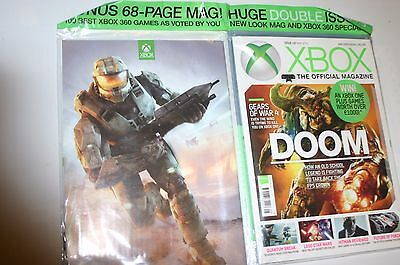 Xbox Official Magazine Doom Gears Of War + 68 Page 100 Best Xbox 360 Games