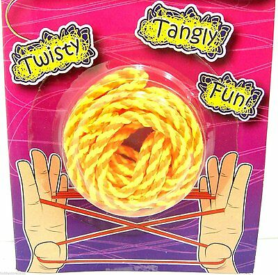 New Cats Cradle String Games Traditional Toy